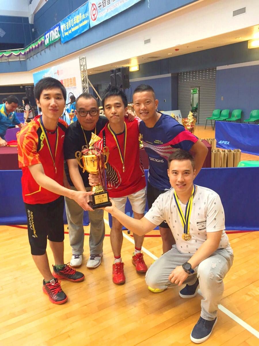 過往陳瑋珩在羽毛球場上留下不少回憶、榮譽和獎項。2